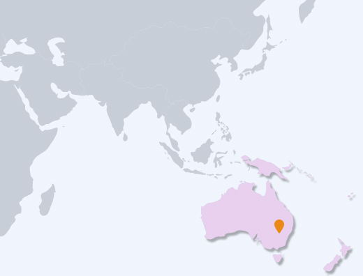 Oceania map image
