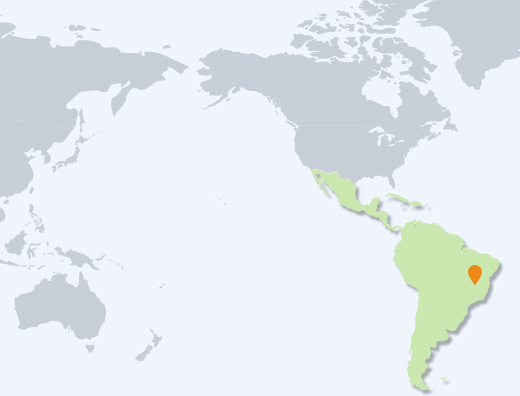 South America Corporation map image